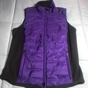 Lauren vest with quilted front panel size S